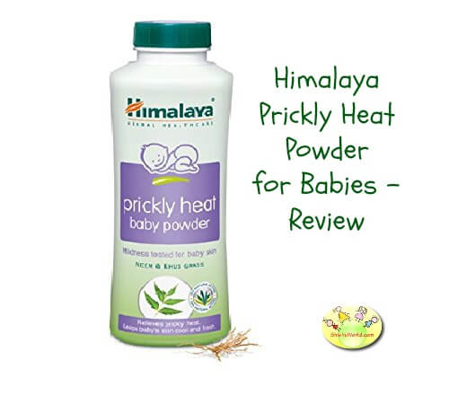 Himalaya Prickly Heat Powder for Babies Review