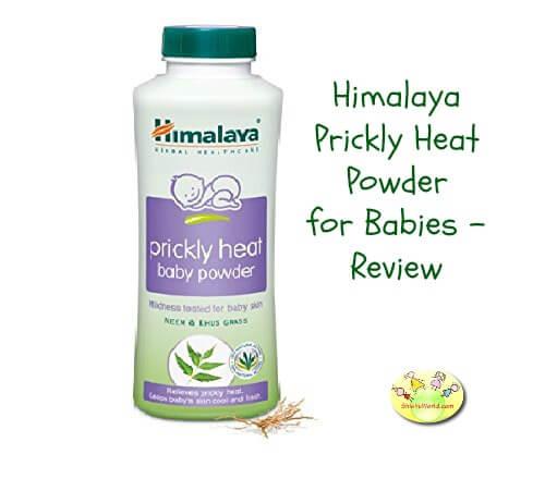 Himalaya prickly heat powder for babiesShishuWorld
