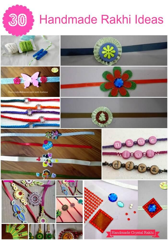 Handmade Rakhi/ Friendship bracelet ideas for kids