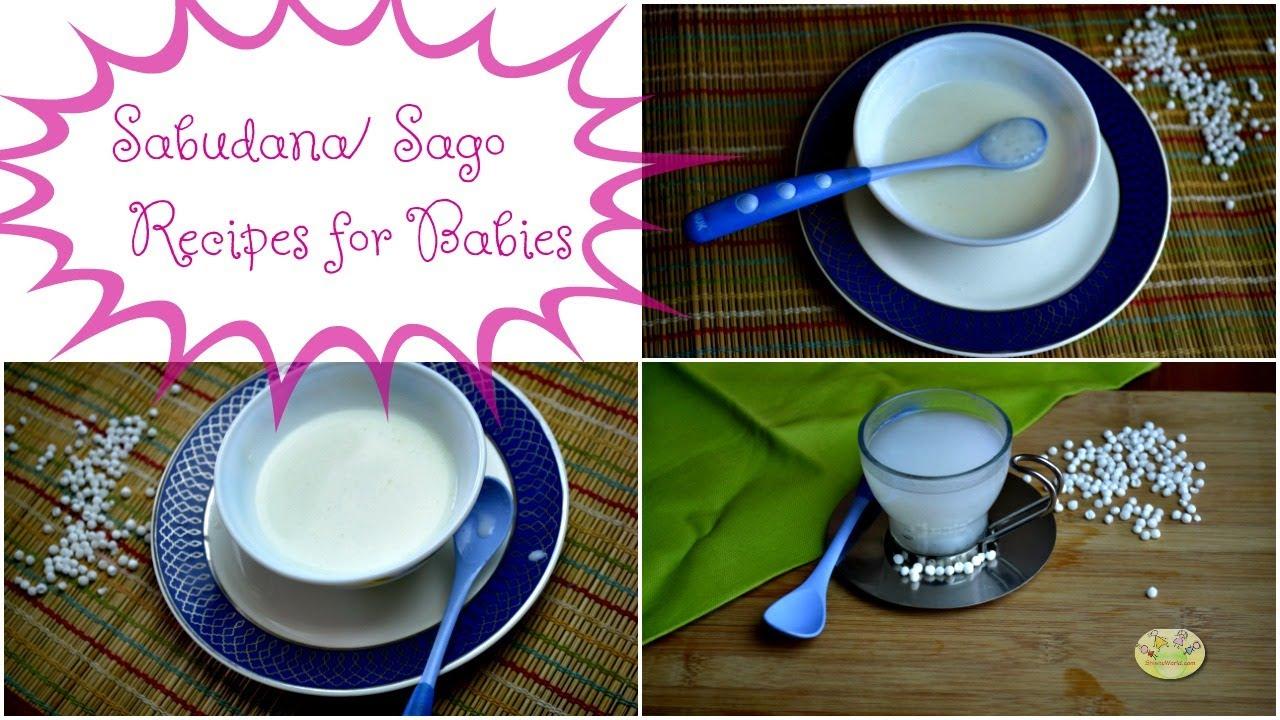 sabudana recipes for babies