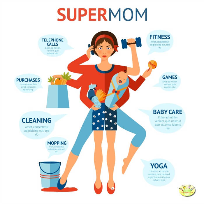 How being a smart-mom makes life easier