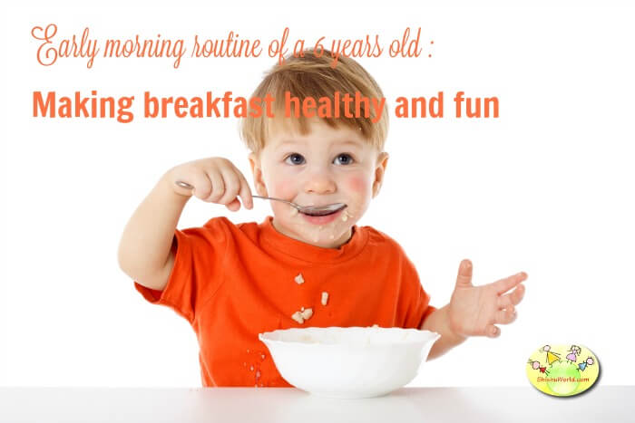Making breakfast fun for toddlers