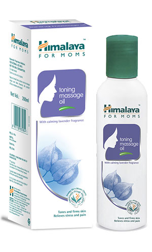 Himalaya for MOMS toning massage oil