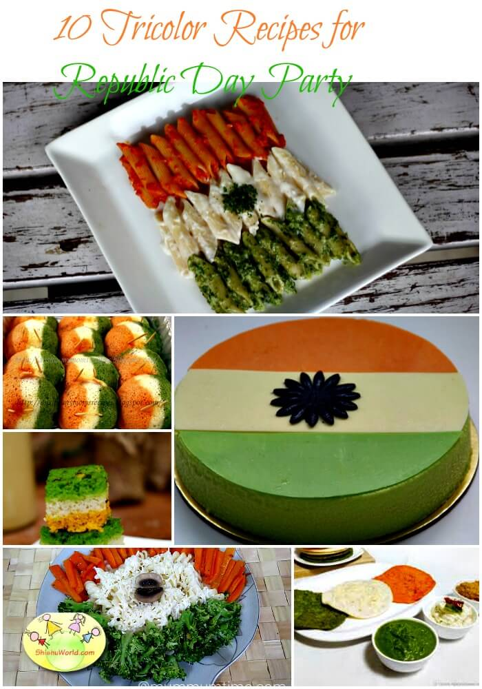 10 Tricolor recipes for republic day/ independence Day