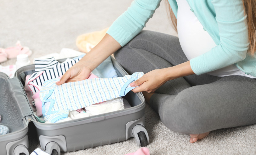 packing checklist for travel with baby