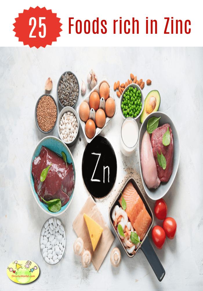 Zinc rich foods to boost immunity